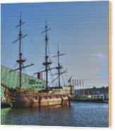 262 Amsterdam Wood Print