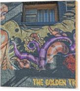 2635- Golden Triangle Wood Print