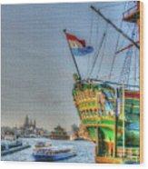264 Amsterdam Wood Print