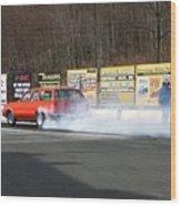 2660 04-19-2015 Lebanon Valley Dragway Wood Print