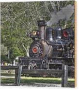 267 - Roaring Camp Train No 7 Hdr Wood Print