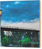 269 - Capitola Village 2 Hdr Wood Print