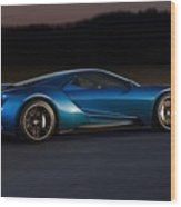 269243 Car Ford Gt Race Tracks Wood Print