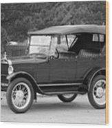 '27 T Touring Wood Print