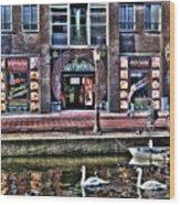 270 Amsterdam Wood Print