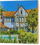 271 - Capitola Village 4 Hdr Wood Print