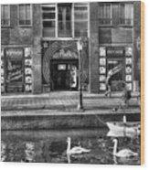 271 Amsterdam Wood Print