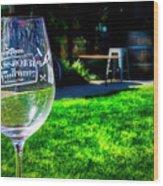 2719- Mauritson Wines Wood Print