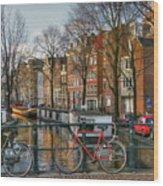 274 Amsterdam Wood Print
