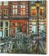 276 Amsterdam Wood Print