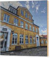 Zealand Denmark Wood Print