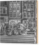 286 Amsterdam Wood Print
