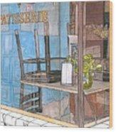 29  Croissant D'or Patisserie Wood Print