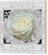 Wedding Rose Collection  Wood Print