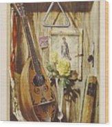 29445 Jesus Helguera Ausencia Wood Print