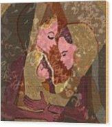 297 - Anna Mary Jesus Child Wood Print