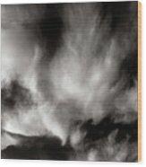 298 - Atmospheric - Cloud Cluster Wood Print
