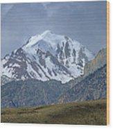 2d07508 High Peak In Lost River Range Wood Print