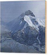 2d07513 Fresh Snow On Mt. Mccaleb Wood Print