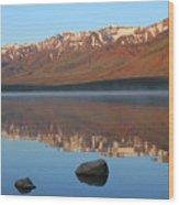 2da5931 Steens Mountain Sunrise Reflect Wood Print