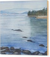 2nd Beach, Vancouver Wood Print