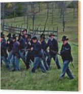 2nd Wi Infantry Black Hats Wood Print