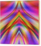 2x1 Abstract 337 Wood Print