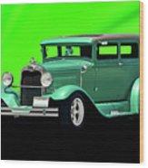 1930 Ford Tudor Sedan Wood Print