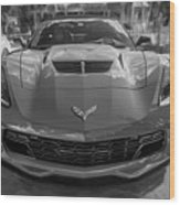 2015 Chevrolet Corvette Zo6 Painted  Wood Print
