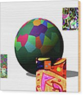3-23-2015d Wood Print