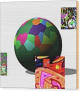 3-23-2015da Wood Print