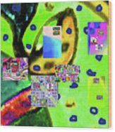 3-3-2016babcdefghijklmnopqrt Wood Print