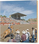 75th Ellensburg Rodeo, Labor Day Wood Print