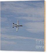 A U.s. Air Force A-10 Thunderbolt II Wood Print