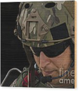 A U.s. Air Force Combat Controller Wood Print