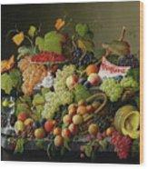 Abundant Fruit Wood Print