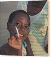 Africa's Children Wood Print