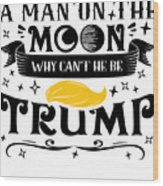 Anti Trump Impeach The President Vote For Dems Light Wood Print