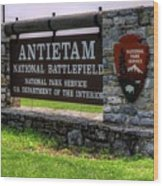 Antietam Battlefield National Park  Wood Print