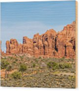 Arches National Park  Moab  Utah  Usa Wood Print