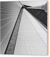 Arthur Ravenel Jr Bridge Charleston Sc Cooper River Wood Print