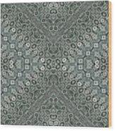 Aztec Navajo Pattern Background Wood Print