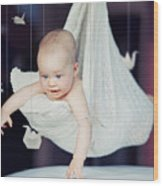 Baby Wood Print