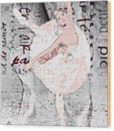 Ballet Wood Print