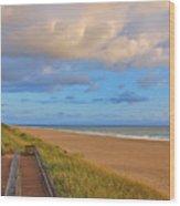 3- Juno Beach Wood Print