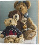 3 Bears Wood Print