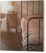 Bedroom Wood Print