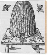 Beehive Wood Print