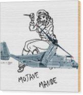 Bell Boeing Cv-22b Osprey Mojave Maude Wood Print