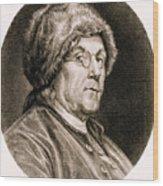 Benjamin Franklin, American Polymath Wood Print by Science Source